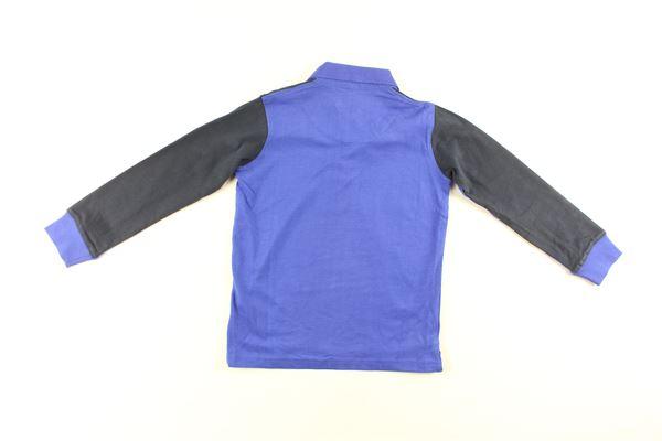 polo manica lunga bicolore HARMONT & BLAINE | Polo | 319JL011COBALTO