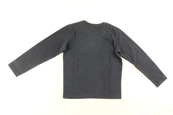 shirt tinta unita con stampa HARMONT & BLAINE | Shirts | 319JL013BLU