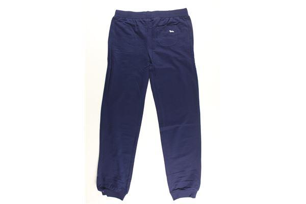 pantalone tuta tinta unita HARMONT & BLAINE | Pantaloni | 34SJL022BISBLU