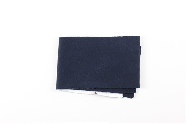 sciarpa tinta unita con stampa HUGO BOSS | Sciarpe | J011113BLU