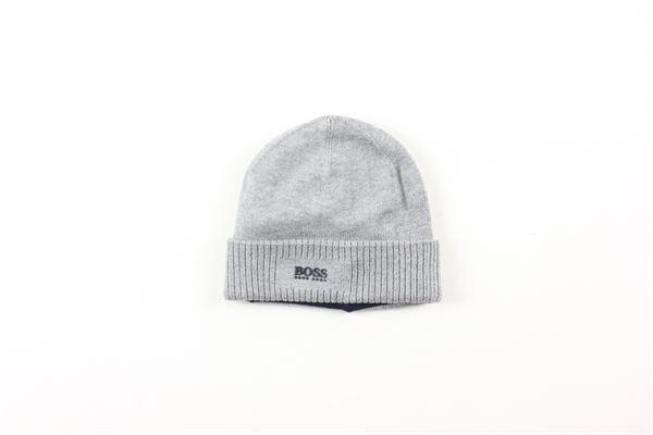 cappello tinta unita HUGO BOSS | Cappelli | J01111GRIGIO