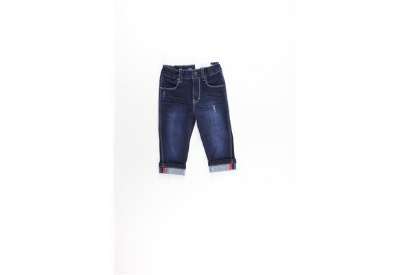 jeans tinta unita con girovita regolabile HUGO BOSS | Jeans | J04383XBLU