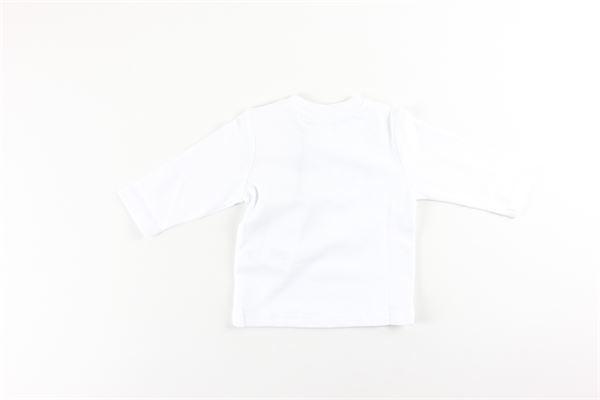 shirt tinta unita con stampa HUGO BOSS | Shirts | J05795BIANCO