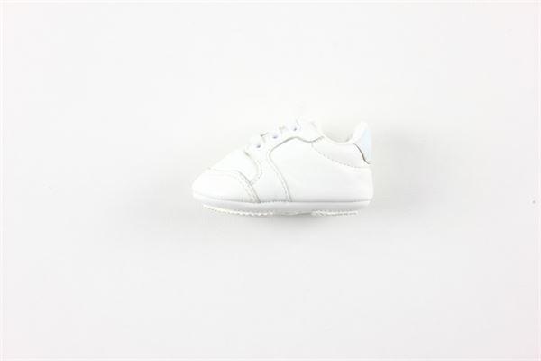 scarpa tinta unita con lacci HUGO BOSS | Scarpe | J99080BIANCO