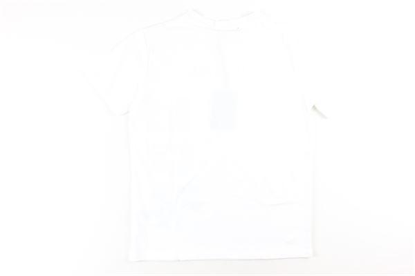 t-shirt tinta unita con stampa I'M BRIAN   T-shirts   TS1229JBIANCO