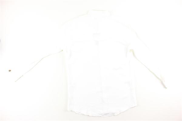 camicia tinta unita manica lunga I'M BRIAN   Camicie   CA1133JBIANCO