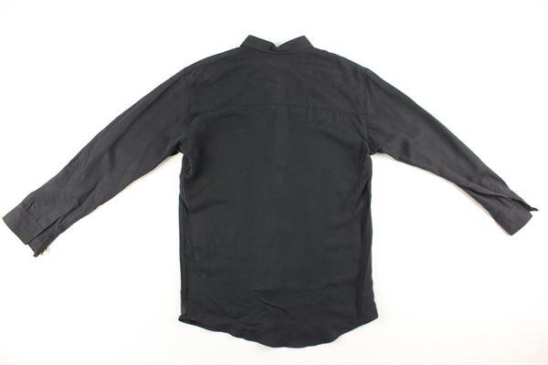 camicia tinta unita manica lunga I'M BRIAN   Camicie   CA1133JNERO