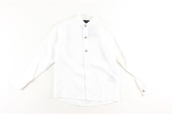 camicia tinta unita manica lunga I'M BRIAN   Camicie   CA1331JBIANCO