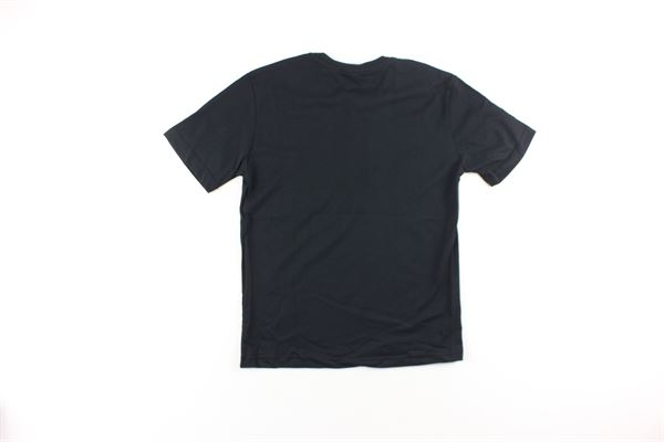 t-shirt tinta unita con stampa tigre I'M BRIAN   T-shirts   TS10404JNERO