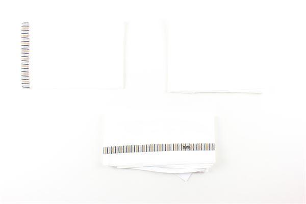 set 3pz lenzuola tinta unita I DELFI | Lenzuolo | 2223BIANCO