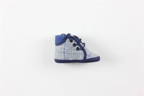 scarpa tinta unita con lacci I DELFI | Scarpe | 2273BLU