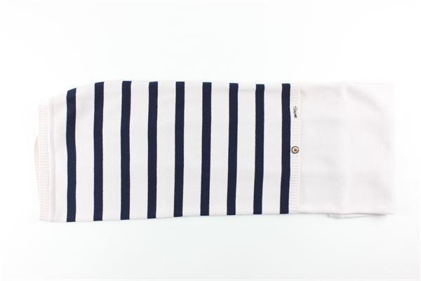 coperta tinta unita fantasia a righe I DELFI | Coperte | 2402BEIGE