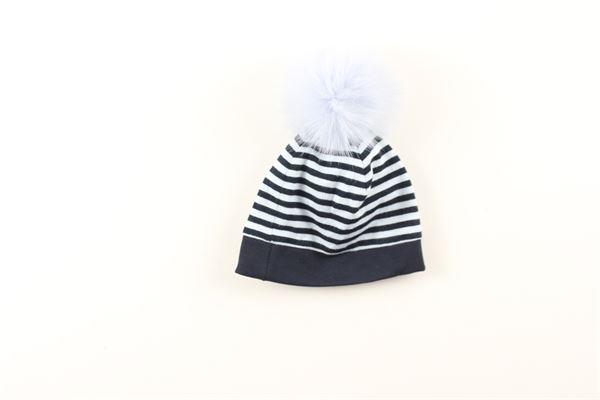 cappello tinta unita fantasia a righe I DELFI | Cappelli | 824BLU