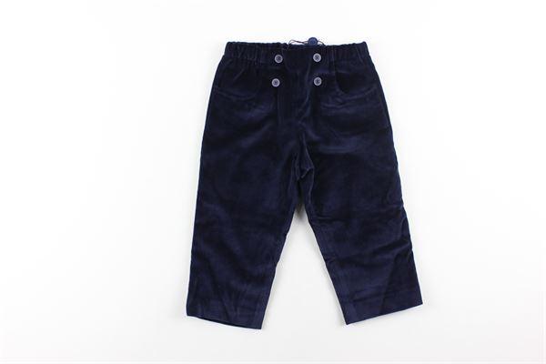 pantalone tinta unita in velluto elastico in vita I PINCO PALLINO | Pantaloni | 0039BLU