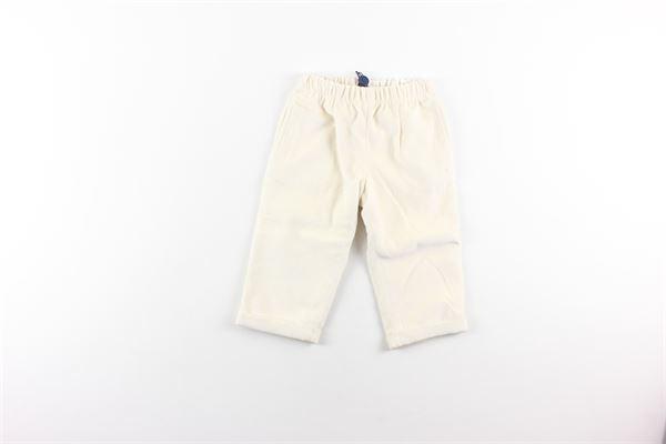 pantalone in velluto tinta unita con elastico in vita I PINCO PALLINO | Pantaloni | 0044PANNA