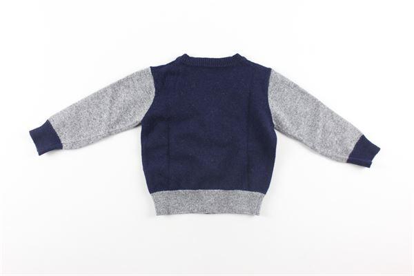 cardigan bicolore I PINCO PALLINO | Cardigan | 03489BLU
