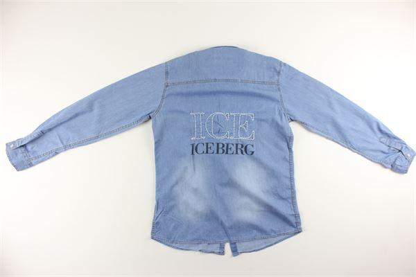 camicia di jeans manica lunga ICEBERG   Camicie   CMICE9304JAZZURRO