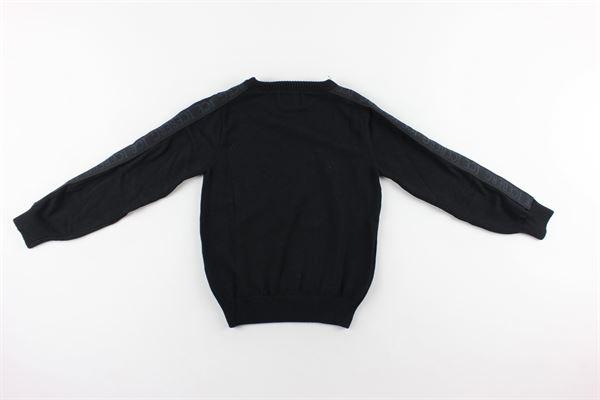 maglia tinta unita con stampa ICEBERG   Maglie   MGICE9309JNERO