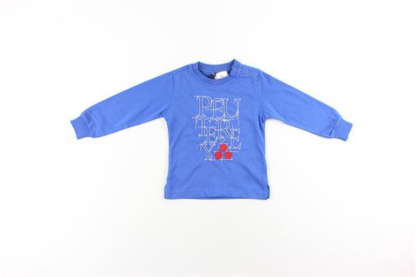 shirt tinta unita con stampa ICEBERG   Shirts   PTB1362COBALTO