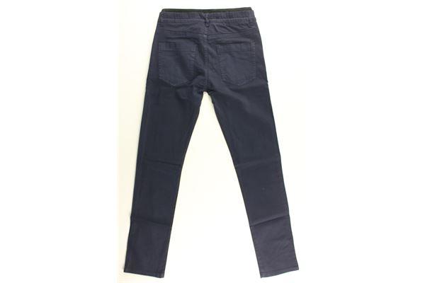 pantalonw tinta unita elastico in vita ICEBERG   Pantaloni   PTICE18300JMBLU