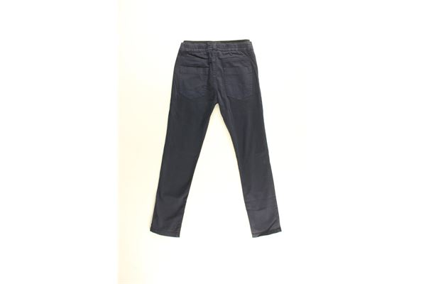 pantalone tinta unita elastico in vita ICEBERG   Pantaloni   PTICE183300JMBLU