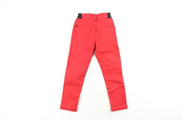 pantalone tinta unita ICEBERG   Pantaloni   PTICE9301BBXROSSO
