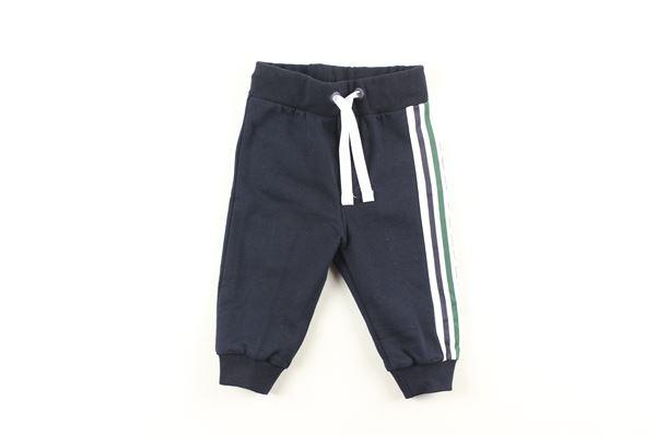 pantalone tuta tinta unita profili in contrasto ICEBERG   Pantaloni   PTICE9305BBLU