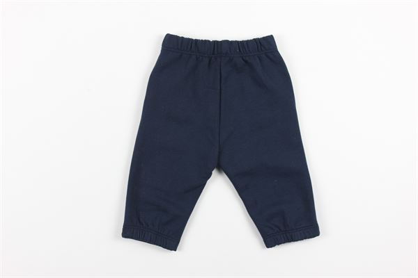 pantalone tuta tinta unita con elastico in vita IL GUFO | Pantaloni | A20PL276M009/497BLU