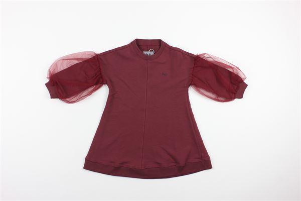 IL GUFO | Dress | A20VL398M0100BORDEAUX