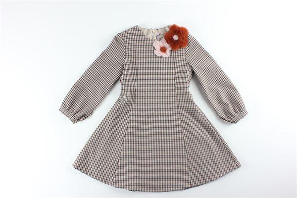 IL GUFO | Dress | A20VL400MARRONE