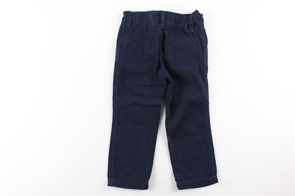 pantalone tinta unita girovita regolabile tasca america IVY OXFORD | Pantaloni | 14IYNMBLU