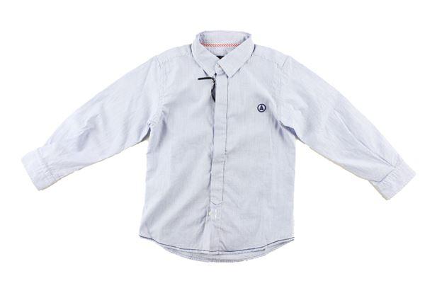 camicia manica lunga fantasia a righe IVY OXFORD | Camicie | 14IYNMCA55CELESTE