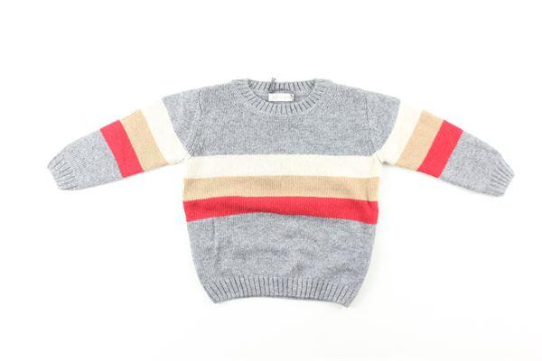maglia multicolor J.O. MILANO | Maglie | 063F1GRIGIO