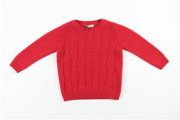 maglia tinta unita J.O. MILANO | Maglie | 063F2ROSSO