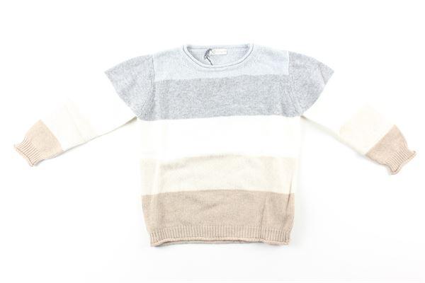 maglia multicolor J.O. MILANO | Maglie | 063G11GRIGIO