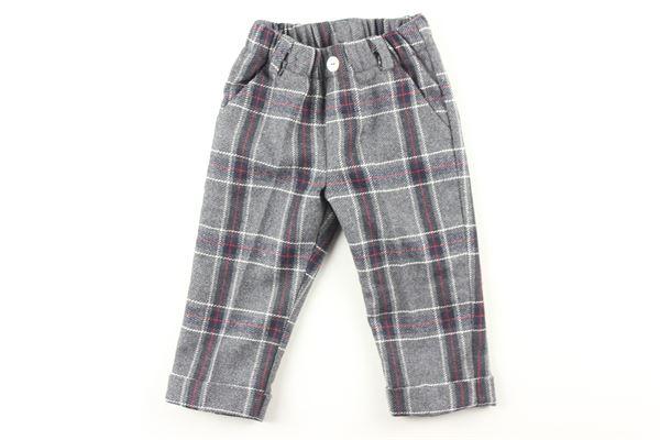pantalone fantasia scozzese J.O. MILANO | Pantaloni | 064E1GRIGIO