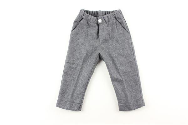 pantalone elastico in vita tinta unita J.O. MILANO | Pantaloni | 064Z22GRIGIO