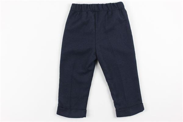 pantalone tinta unita elastico in vita J.O. MILANO | Pantaloni | 064Z2BLU