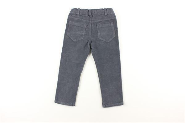 pantalone in velluto tinta unita J.O. MILANO | Pantaloni | 064Z5GRIGIO