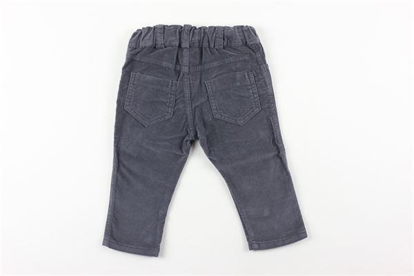 pantalone in velluto tinta unita J.O. MILANO | Pantaloni | 064Z5XGRIGIO