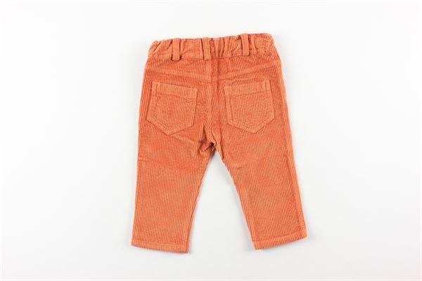 pantalone in velluto girovita regolabile J.O. MILANO | Pantaloni | 064Z6XARANCIO