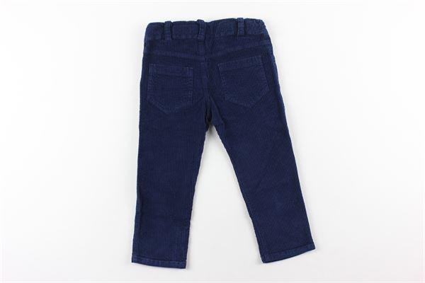 pantalone in velluto girovita regolabile J.O. MILANO | Pantaloni | 064Z6XBLU