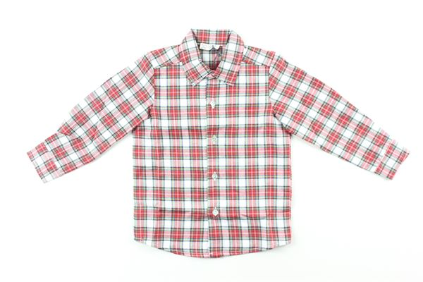 camicia manica lunga fantasia quadri J.O. MILANO | Camicie | 066F1ROSSO