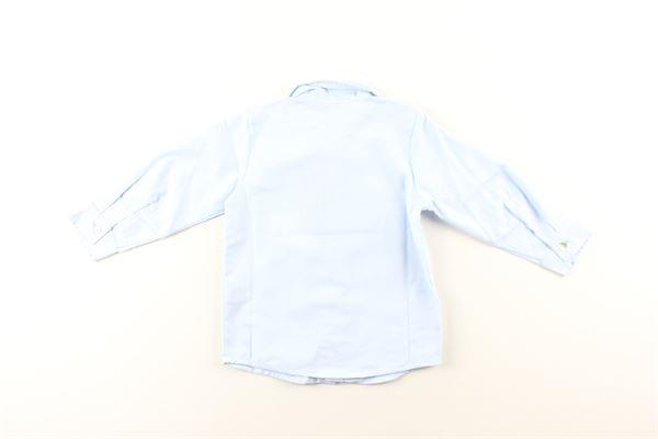 camicia manica lunga tinta unita J.O. MILANO | Camicie | 066Z22AZZURRO