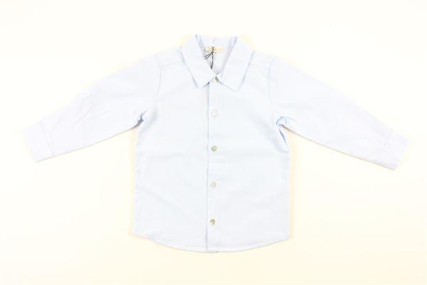 camicia manica lunga tinta unita J.O. MILANO | Camicie | 066Z2CELESTE
