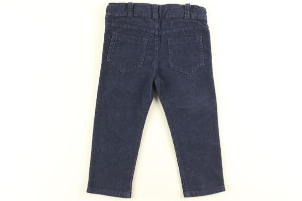 pantalone in velluto tinta unita J.O. MILANO | Pantaloni | 964Z6BLU