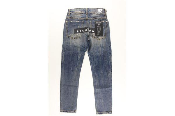 jeans 5 tasche tinta unita JOHN RICHMOND | Jeans | RBA20236JEBLU