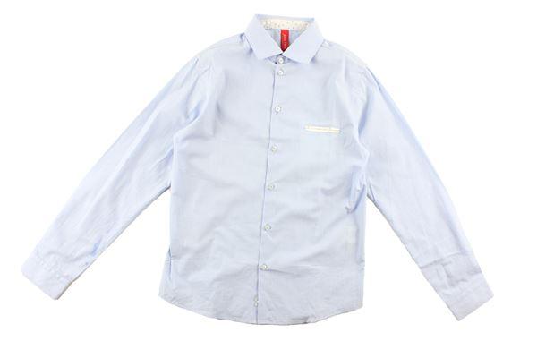camicia manica lunga tinta unita JOHN TWING | Camicie | CAMICIA1CELESTE