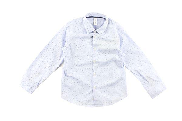 camicia manica lunga tinta unita con microfantasia JOHN TWING | Camicie | JT9194CELESTE