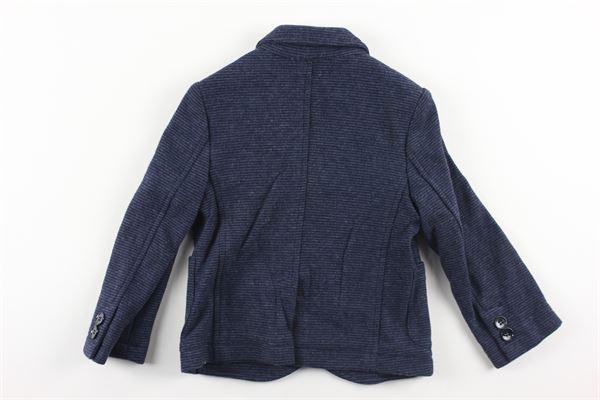 giacca doppio petto con microfantasia JOHN TWING | Giacche | JTB488BLU